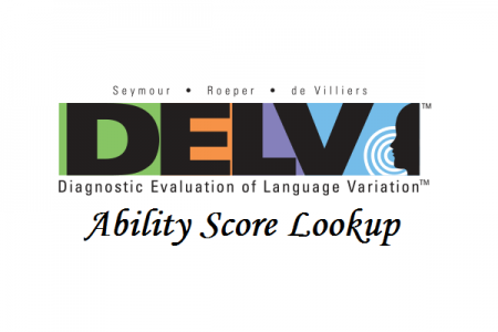 DELV Ability Score Lookup